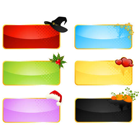 beautiful holiday backgrounds Vector