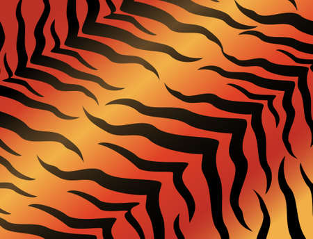 tiger hunting: abstract tiger background for a design