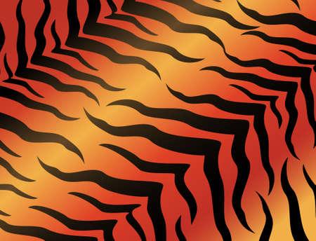 impresion de los animales: Fondo de tigre abstracta para un dise�o