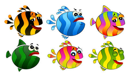 little colorful tropical fish Stock Photo - 6457068