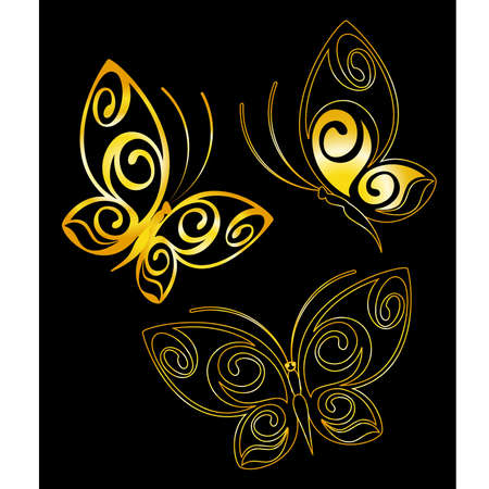 grunge wings: Butterfly astratta