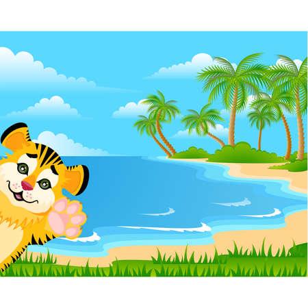 fur tree: Tigre bella toddler