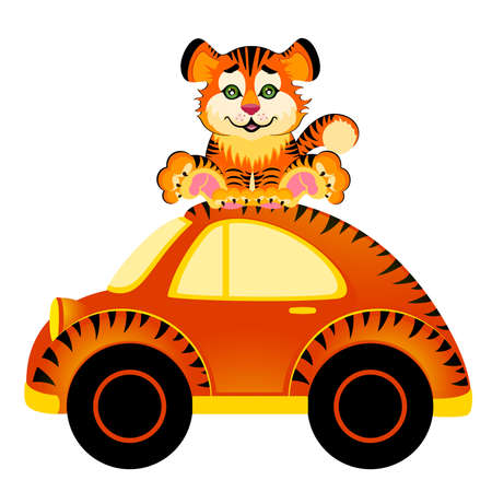 multi race: coche de dibujos animados  Vectores