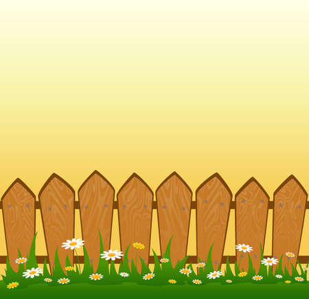 Country Fence Stock Photo - 7520684