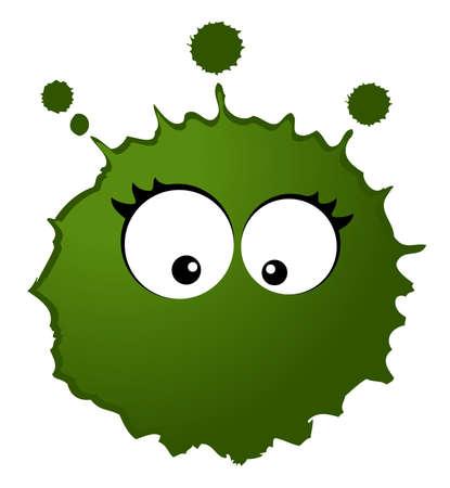 microbio: virus y g�rmenes  Foto de archivo