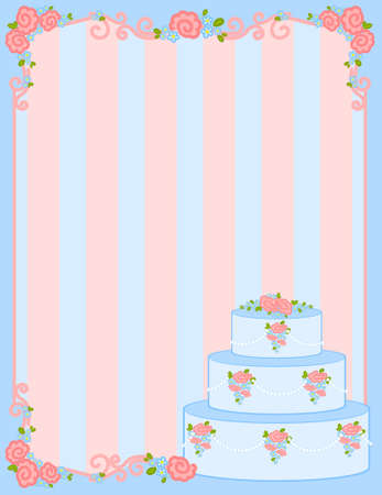 valentine`s day frame with sweet cupcake photo