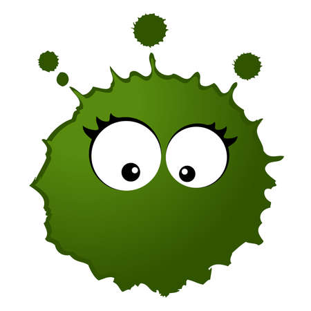 virus and germs Stock Vector - 7977012