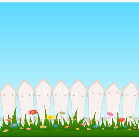 Country Fence Stock Vector - 8133930