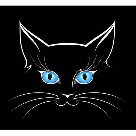 dark eyes: cat eyes