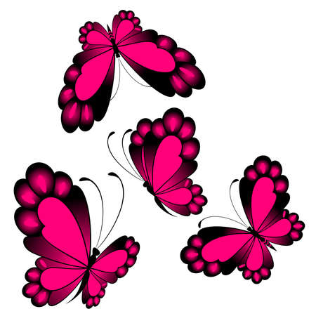 beautiful butterfly for a design Stock Vector - 8128085