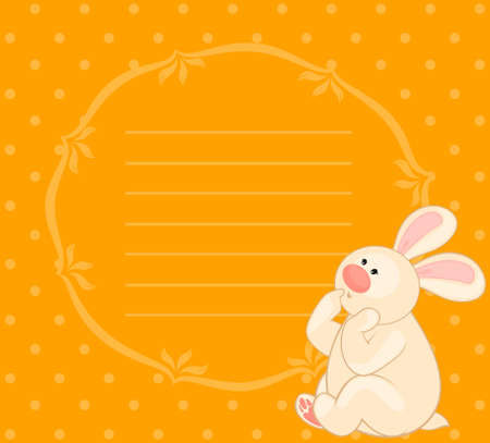 cartoon little toy bunny Stock Photo - 8186561