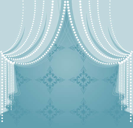 home theater: curtain