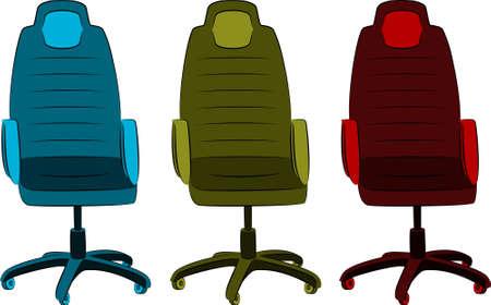 imitation leather: La sedia da ufficio da similpelle