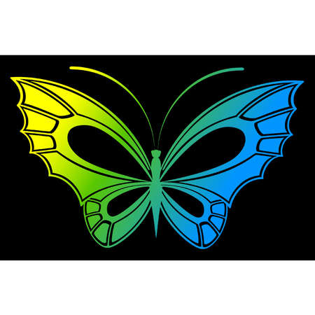 Vector beautiful butterfly Stock Vector - 9869479
