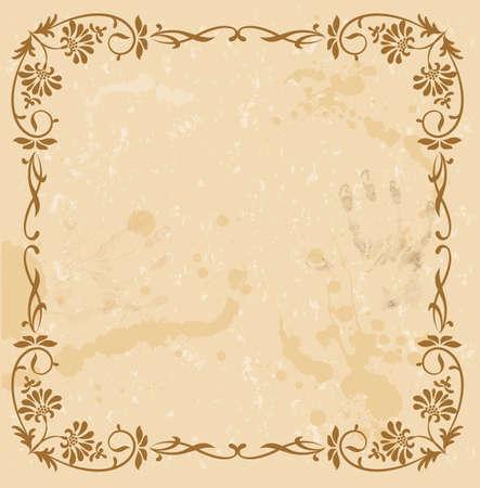 lace doily: Luxury vintage background.