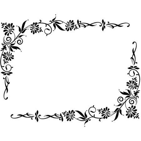 Fond de cru avec des fleurs.