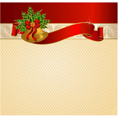Beautiful Christmas background. Vector Vector