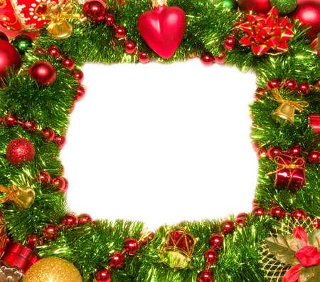 Christmas Decoration Candle. New Year photo