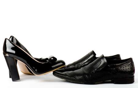 Sexy fashionable shoes isolated on white background Stock Photo - 13663120