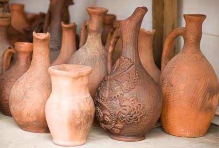 Clay pots photo