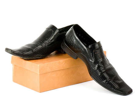 Sexy fashionable man s shoes Stock Photo - 14685388