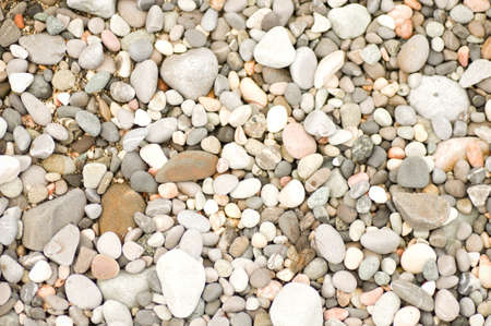 Sea stones background