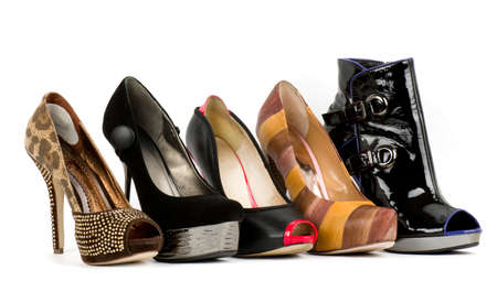 Sexy fashionable shoes isolated Stock Photo - 14602180