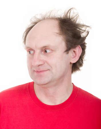madman: Happy crazy man