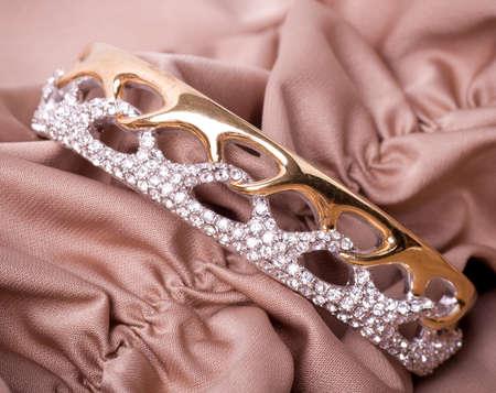 diamond jewellery: Beautiful jewelry on background