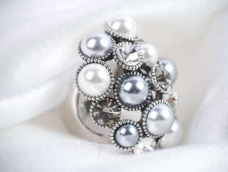 Beautiful jewelry on background Stock Photo - 16736579