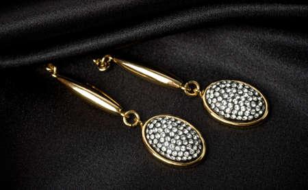 Beaux bijoux sur fond