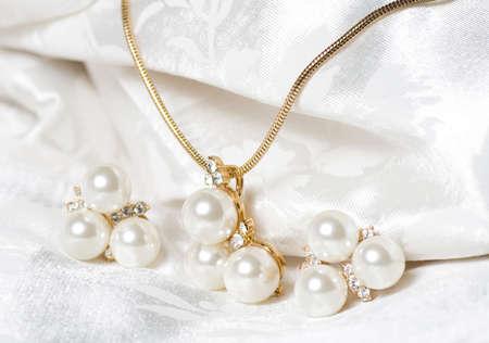 jewlery: Beautiful jewelry on background