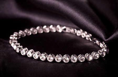 Beautiful jewelry on background Stock Photo