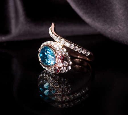 Beautiful jewelry on background Stock Photo - 17508363