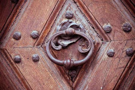 Vintage door knocker photo