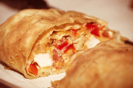 strudel: Tasty strudel with the delicious filling