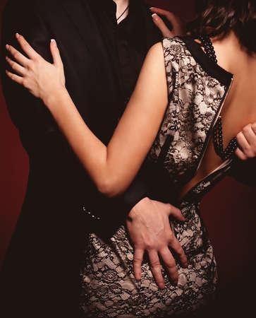 ファッションの男性と女性の美しい写真 写真素材 - 19037196