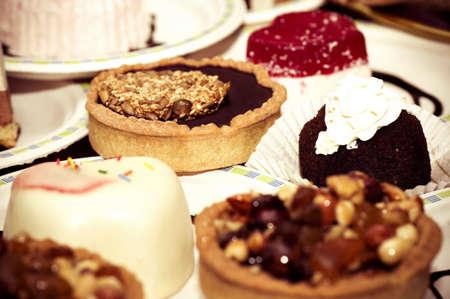 opvulmateriaal: Kleine smakelijke taarten met vulling