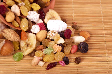 dry fruits: Mix nuts and dry fruits