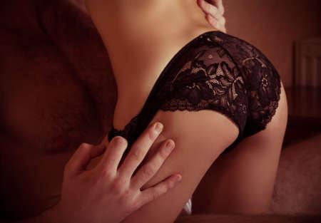 nude sexy girl: Portrait of happy loving couple