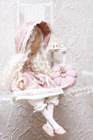 Handmade vintage doll photo