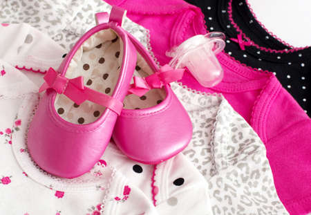 fashion  babies's wear: Baby girl colorful clothes with baby boots