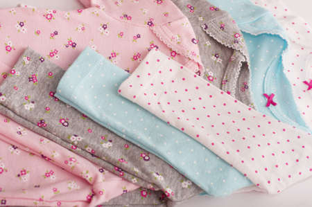 fashion  babies's wear: Baby girl colorful clothes. Set