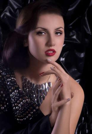 Fashion woman with jewelry precious decorations Stock Photo - 30548501