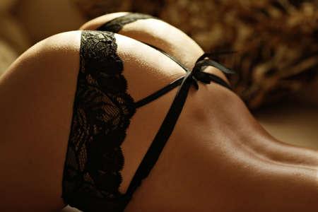 thong bikini: Woman attractive Stock Photo