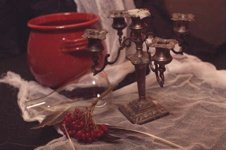 witchery: Old candlestick of witch