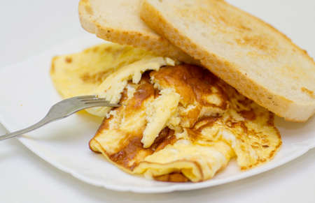 omelet: Breakfast with omelet