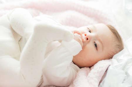 Portrait of a cute little girl Stock fotó