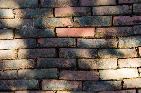 Old Street brick at chiangmai