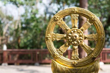 Wheel of Buddha at Chiangrai